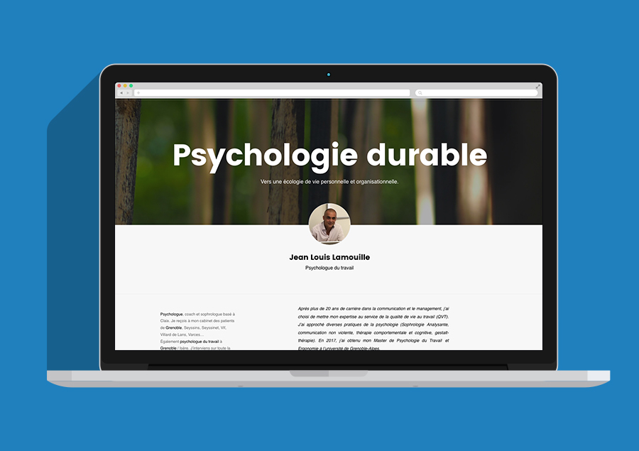 site psychologie durable
